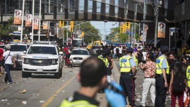 "Photo of اطلاق نار في احتفالات تورونتو ب"" الرابتورز """